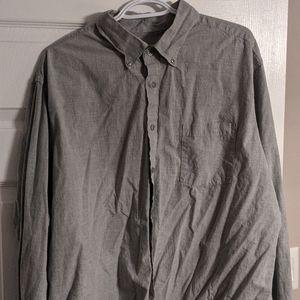 Gray Men's Shirt XXL